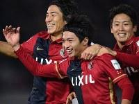 クラブW杯決勝でレアル・マドリードを相手に2ゴールを決めた柴崎岳(中央) [写真]=Getty Images