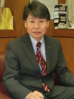 清水聖士・鎌ケ谷市長