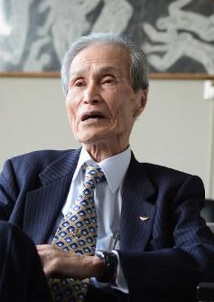 Sumiteru Taniguchi, chairman of the Nagasaki Atomic Bomb Survivors Council. (Mainichi)