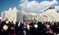 「郷愁D51」=1971年、真駒内会場