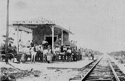 米フロリダ南部には20世紀初頭から日本人移民の集落があり「ヤマト駅」もつくられた=モリカミ博物館提供