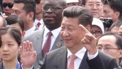 中国の習近平国家主席=2015年4月、平野光芳撮影