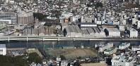 来年度末に閉鎖予定の三菱重工長崎造船所幸町工場