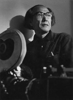 鈴木清順(映画監督)=1969年5月撮影