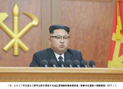 金正恩朝鮮労働党委員長(朝鮮中央通信=朝鮮通信)
