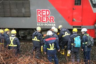 室蘭本線列車衝突事故