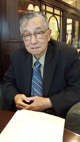アンソニー・トゥー氏(アメリカ コロラド州立大学名誉教授)=東京都中央区で2013年10月8日午後3時10分、岸達也撮影