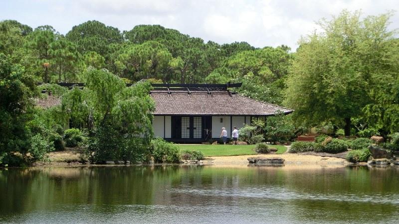 メラニア米大統領夫人と安倍昭恵首相夫人が今年2月に訪れたモリカミ博物館=2013年6月、川井龍介さん撮影