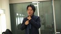 <プロフィル>桐谷健太(きりたに・けんた) 1980年大阪出身。幼少期から役者を志し大学入学を期に上京。俳優養成所で演技を学んだ後に2002年テレビドラマで俳優デビューする。2008年人気ドラマ「ROOKIES」の平塚平役で知名度が高まり、数々の舞台・映画に出演。2011年「第35回エランドール賞新人賞」受賞。「2015年度CMタレント好感度ランキング」の男性部門で第1位獲得。2016年CMソング「海の声」が音楽ダウンロード数・カラオケランキングで年間1位の大ヒットを記録し第67回紅白歌合戦に初出場を果たす。身長181センチ。趣味は「旅」「妄想」特技は「どこでも眠れること」という37歳。