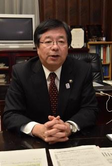 室井照平・会津若松市長