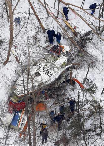 長野ヘリ墜落:直前まで異変なく...