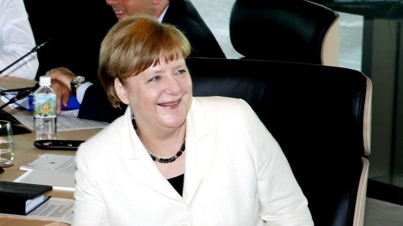 ドイツのメルケル首相=2016年5月27日(代表撮影)
