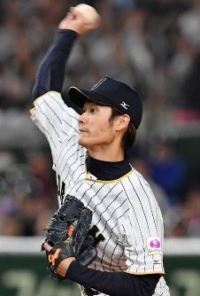 【日本―中国】日本先発の武田=東京ドームで2017年3月10日、宮間俊樹撮影