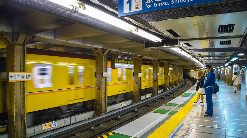 東京メトロ銀座線上野駅