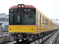東京メトロは全車両に防犯カメラを設置すると発表した=米田堅持撮影