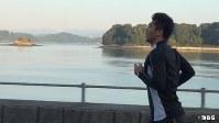 杉本龍勇に密着した「情熱大陸」の一場面