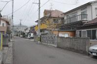 住宅地で全国最高の上昇率となった仙台市若林区白萩町14-18周辺