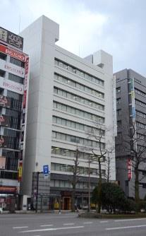 県内商業地で最も価格が高かった新潟市中央区東大通1の第3マルカビル
