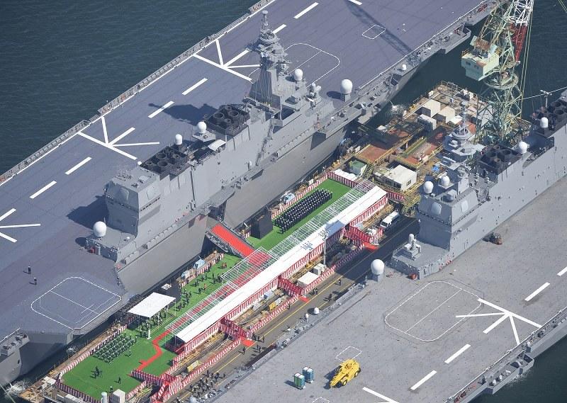 最大の護衛艦「かが」就役 「海上の司令塔」期待