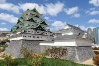 名古屋城=レゴブロックでできている