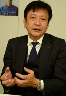 小早川智明・東京電力エナジーパートナー社長=岡大介撮影