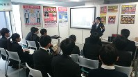 警視庁が開いた学生らを対象にした説明会「警視庁EXPO」