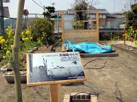 生態園づくりの看板