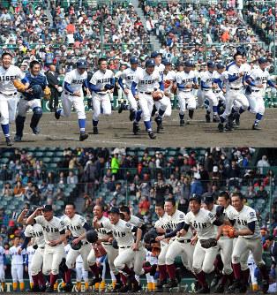 選抜高校野球:決勝「大阪対決」...
