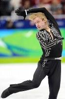 フィギュアスケート・グランプリシリーズ、ロシア杯で優勝したプルシェンコの演技=ロシア・モスクワで2009年10月24日、石井諭撮影
