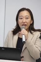 文科省大学改革推進室の井上睦子室長