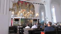 ケーニヒスベルク大聖堂でパイプオルガン演奏を聴く(写真は筆者撮影)