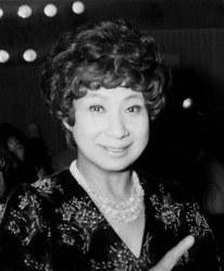 芸能タレントの京唄子さん=1981年