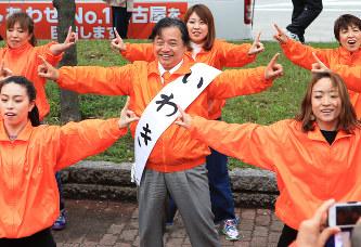 名古屋市長選:争点に新味なく 3...