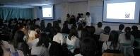 昨年11月の最終プレゼンテーションの様子=福井大学提供