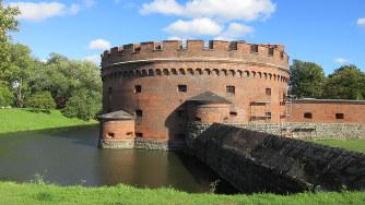 古い時代のカリーニングラードの風情を残すドーナの塔(写真は筆者撮影)