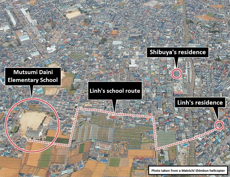 Japanese man arrested after young Vietnamese girl killed