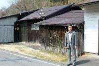 呉山良雄さんが幼少期から暮らした自宅は修繕を続け、今も大切に残してある=滋賀県湖南市石部緑台で、大澤重人撮影