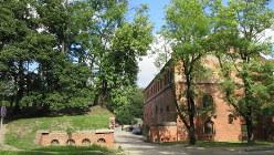観光利用はされていない旧ドイツ軍の施設(写真は筆者撮影)