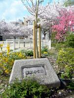 今はない川の名前を残す猫間川公園=大阪市生野区生野西2で、松井宏員撮影