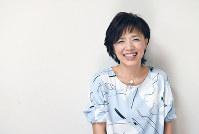 今夏の「ピーターパン」の主役は榊原郁恵さんから数えて10代目。「いろいろな方が引き継いでくれますよね」=東京都渋谷区で2017年4月12日、藤井太郎撮影