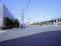 現在の品川ふ頭の南側。かつて第5台場があり、「東水園」があった=東京都港区港南で3月22日、栗原俊雄撮影