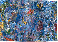 2001年 ウール 個人蔵 © JASPAR,2017except for tapestries made with Marc Chagall © Tapestry by Marc Chagall made in collaboration with Yvette Cauquil-Prince /JASPAR,2017G0889