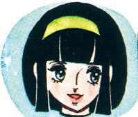 初代美子ちゃん(1972~84年) おしゃれではつらつとした、歴代屈指のもてるキャラクター。作者は矢吹れい子さん=学文社提供