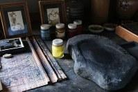 小高文庫に置かれている丸木夫妻の遺品