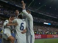 勝利の伝統を持つレアル・マドリード [写真]=fotopress/Getty Images