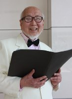 「合唱王子」池田公一さん=広瀬晃子撮影