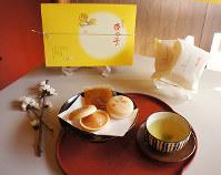 2017年3月に販売が始まった「犀星杏っ子」=金沢市で、堀文彦撮影