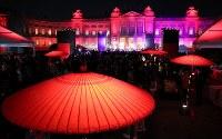 世界女性サミットのウエルカムディナー会場となった迎賓館=東京都港区で2017年5月11日午後9時31分、後藤由耶撮影