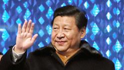 中国の習近平国家主席=2014年2月7日(代表撮影)