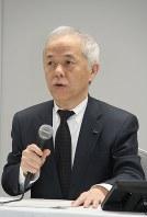 広瀬直己・東電HD社長=片平知宏撮影
